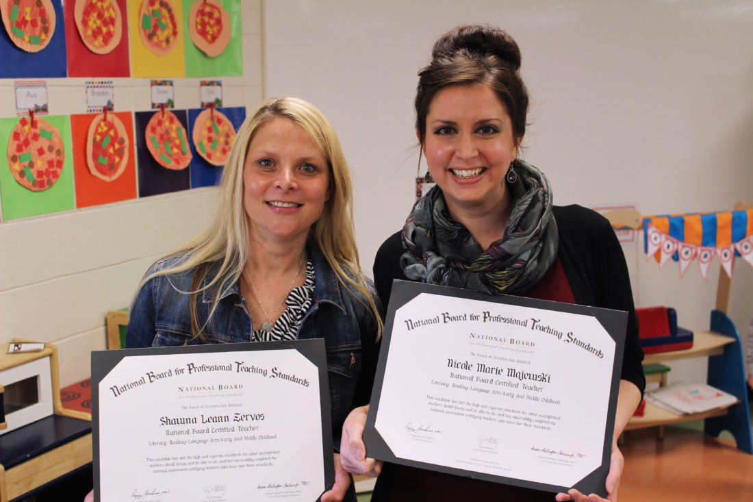 Two Mcninch Primary Teachers Earn Certifications News Sports