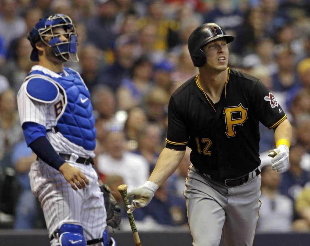 Brewers just can't beat Kuhl, Pirates