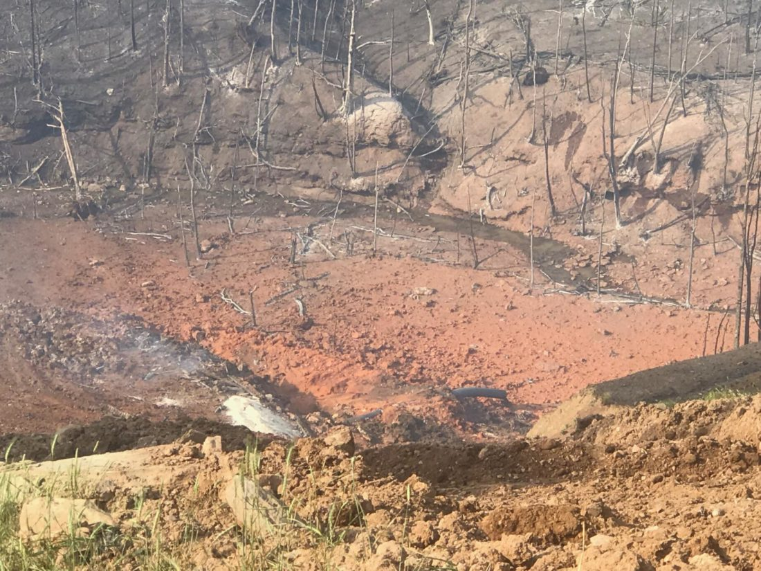 Assessing the Aftermath of Marshall County Pipeline Explosion | News