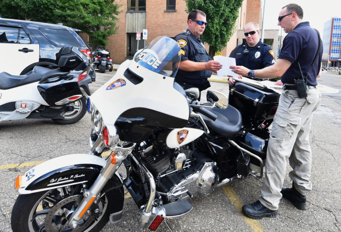 traffic security measures concerns for pence visit to wheeling