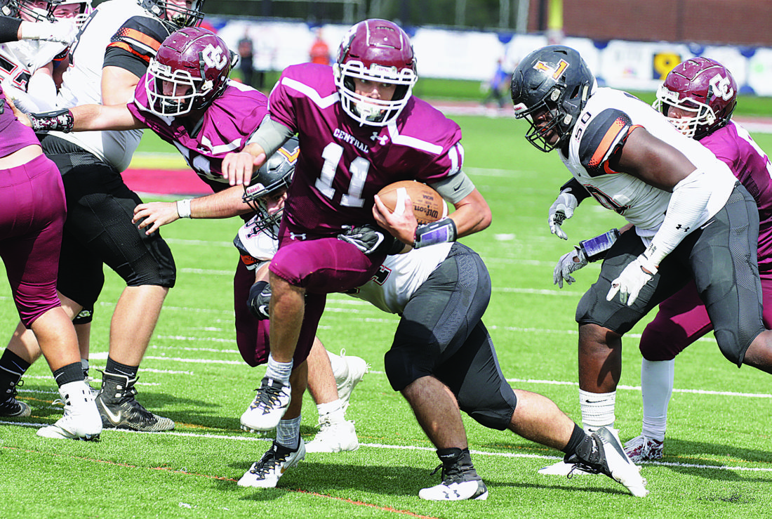 wheeling central overpowers linsly news sports jobs the