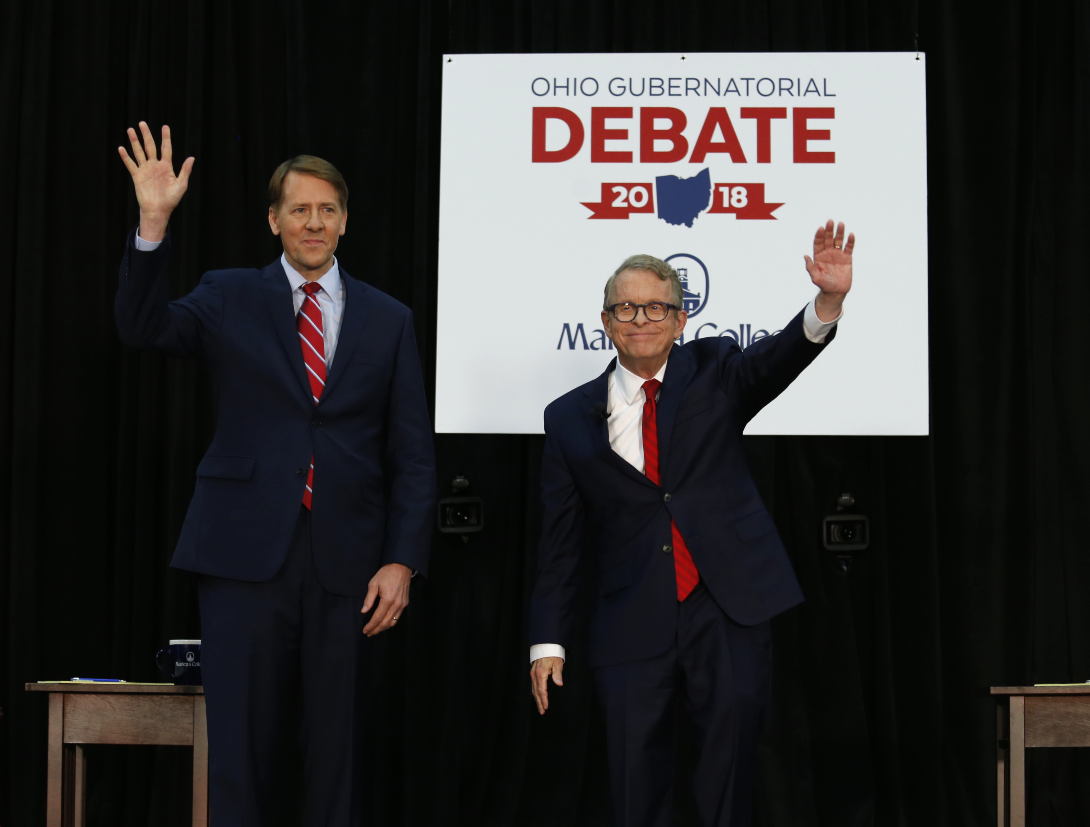 Ohio Governor Candidates Cordray, DeWine Spar on Health ...