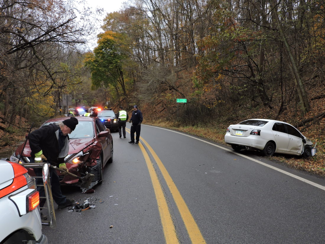 Crash Backs Up W.Va. 88 Near Oglebay Park in Wheeling
