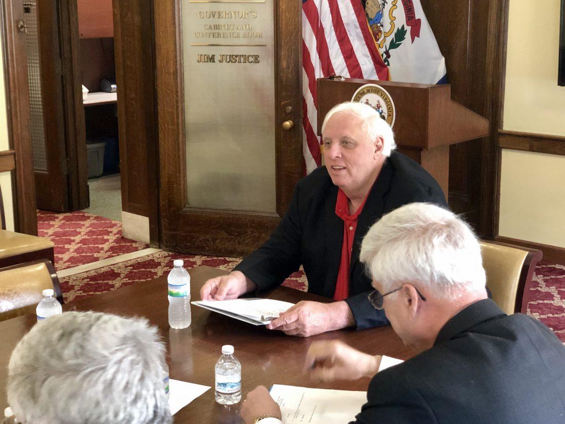 In Exclusive Interview, West Virginia Gov  Jim Justice Responds to