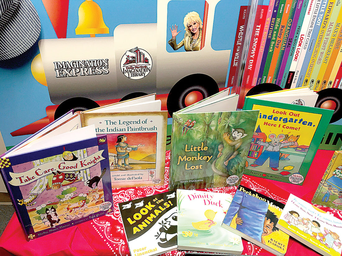 Image courtesy of Dolly Parton's Imagination Library Dolly Parton's Imagination Library was launched in 1995 in an effort to create a love of reading to all children, regardless of their family's income. It now reaches children in more than 1,600 communities, including Randolph County.