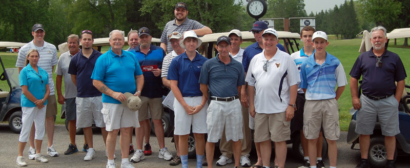 Submitted photo The Barbour County Chamber of Commerce recently hosted its annual charity golf tournament.