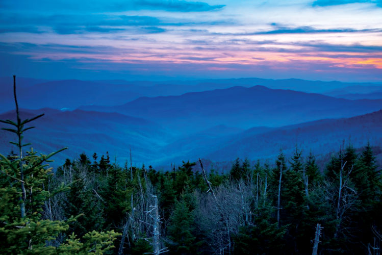 Clingman's Dome taken in the Great Smoky Mountains by BUCC President Gary McCoy.