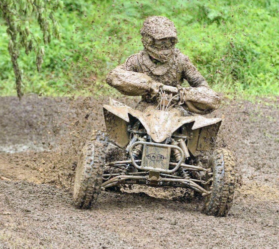 Submitted photo Local ATV racer Chandler Burner will compete in Pocahontas County Saturday and Sunday in the 11th annual Snowshoe GNCC, as part of America's largest off-road motorcycle and ATV racing series.