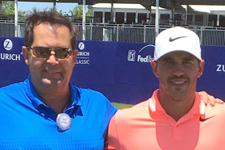 Submitted photo Bob Koepka, left, is proud of the success of his son, U.S. Open winner Brooks Koepka.