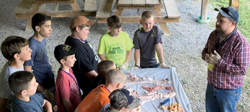 Submitted photos More than 20 youth and adults attend the second annual Barbour County Livestock Association Camp. The camp was full of fun and educational activities.