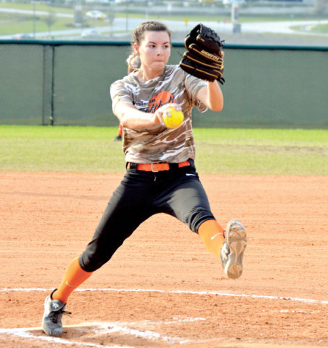 Submitted photo Hannah Vet, a West Virginia Wesleyan junior pitcher from Naples, Florida, has received multiple postseason honors.