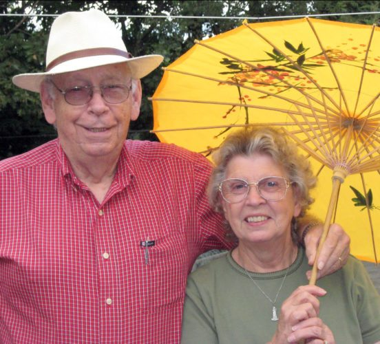 Submitted photo The late Harley Brown, shown with his late wife, Dora Brown, will be honored by the city of Buckhannon at the dedication of the Harley A. Brown Memorial Water Plant at 173 Wood St. at 2:30 p.m. Thursday.