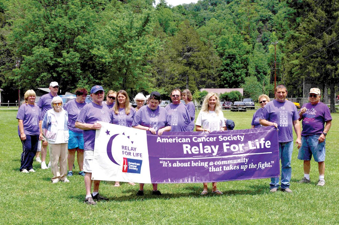 The Inter-Mountain photo by Joan Ashley Out of this year's Relay For Life total of $26,954.41, Team USA raised the most team money with $7,303.51, followed by the Pendleton County Crusader with $5,859.39 and Pendleton County Banking on a Cure with $4,574.