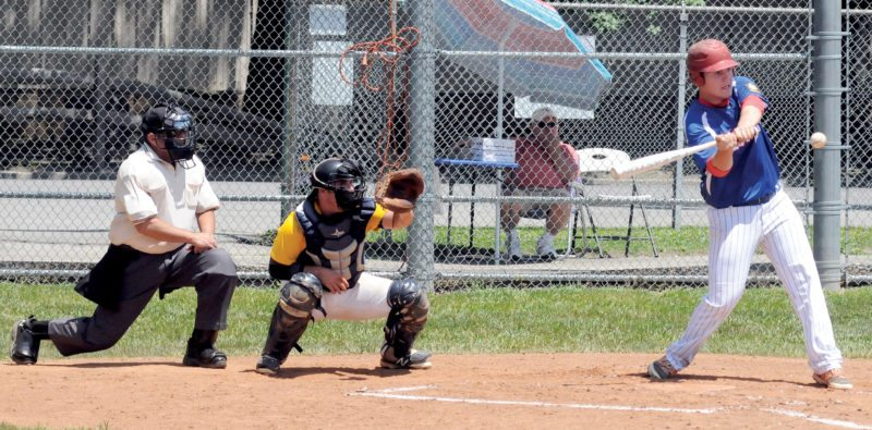 The Inter-Mountain file photos by Kevin Hostetler Elkins Post 29 is hosting the Area 5 Tournament, beginning today at Bluegrass Park. In the tourney opener, Post 29 will take on Jane Lew Post 166 at 5 p.m. at Robin Harvey Memorial Field.