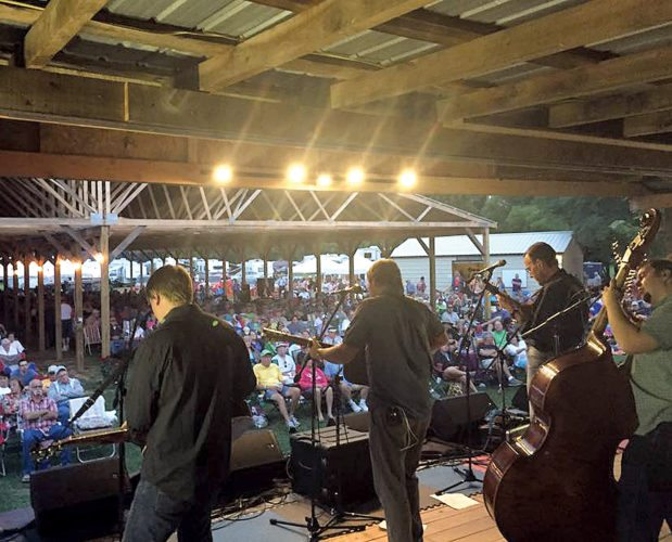 The annual Pickin' in Parsons Bluegrass Festival is set for Aug. 1-5.