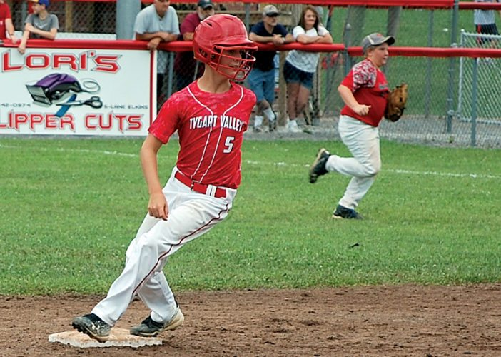 The Inter-Mountain file photo by Brad Johnson The Tygarts Valley All-Stars defeated Madison 6-5 in the 12-year-old Little League state tournament Tuesday.