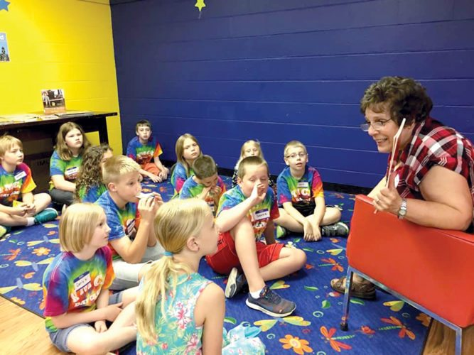 Submitted photo The Read Create Through The Decades Summer Program will end with an art show at Elkins-Randolph County Public Library on Friday from 4:30 to 6:30 p.m.