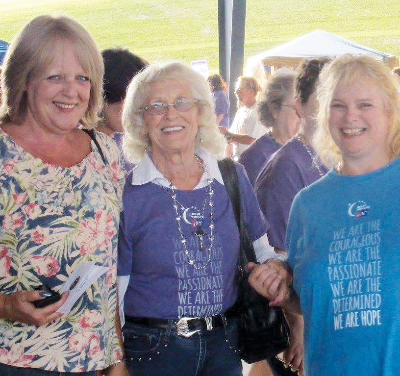 Rain didn't dampen the spirits of participants during the Barbour County Relay For Life.