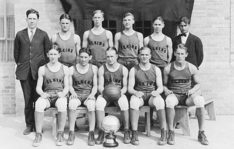 Submitted photos The 1926 Elkins High School basketball team won the school's second state championship in the sport.