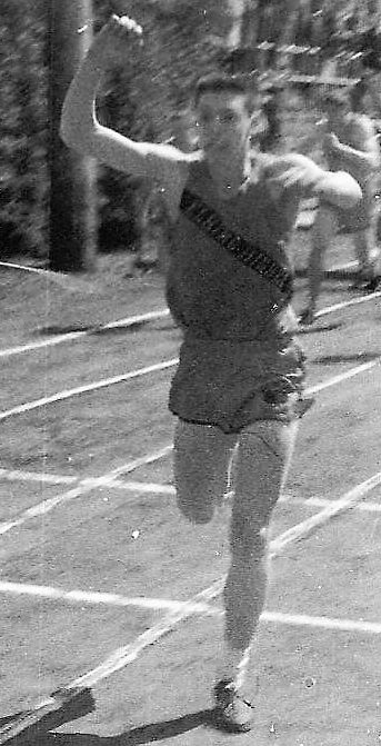 Submitted photo Sylvester Wilson Fretwell was a track star for Elkins High School.