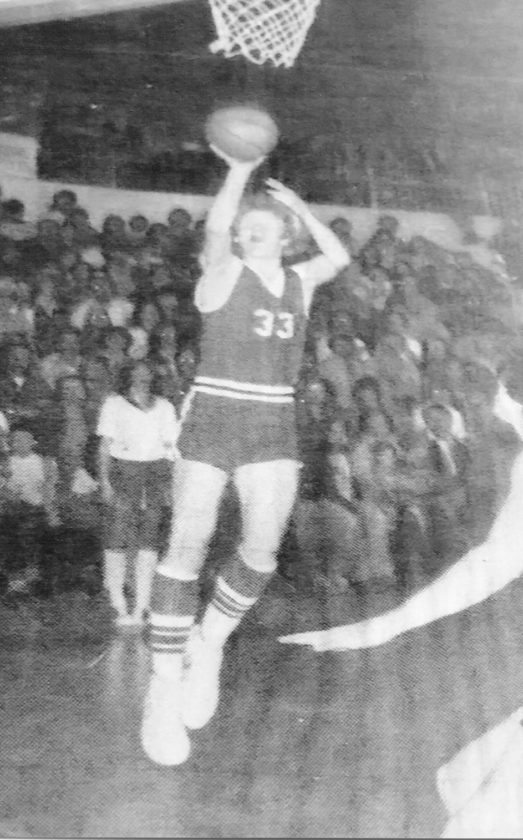 Submitted photo Greg Huffman was a basketball standout for Harman High School.