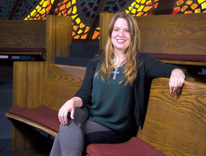 Submitted photo The Presbytery of West Virginia will install the Rev. Laura Brekke as Benfield-Vick Chaplain at Davis & Elkins College. The ceremony, which is open to the public, is scheduled for 5 p.m. Sept. 10 at Robbins Memorial Chapel on the College campus.