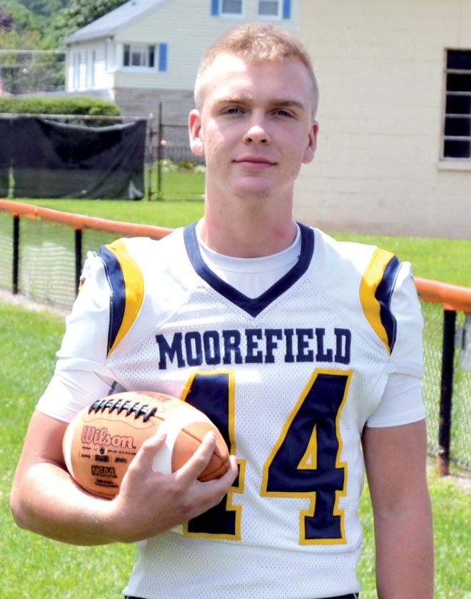 The Inter-Mountain photo by Tony Baisi Matt Mongold is entering his senior season for Moorefield.