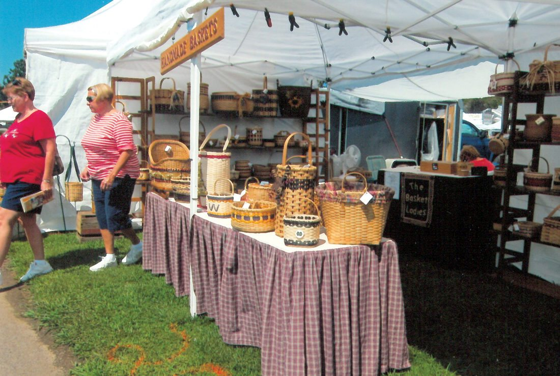The Jane Lew Fireman's Art and Craft Fair always houses a large assortment of craft booths and will welcome buyers to Lewis County through Sunday.