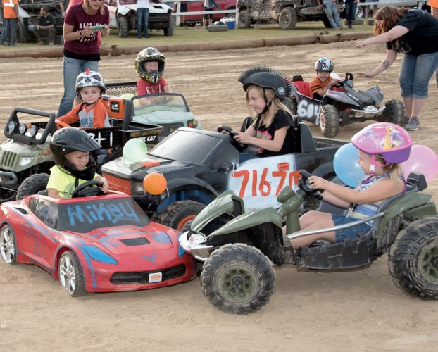 Photos courtesy of Bruce Short Youngsters participate in the Kids Power Wheels Demolition Derby during the Barbour County Fair.