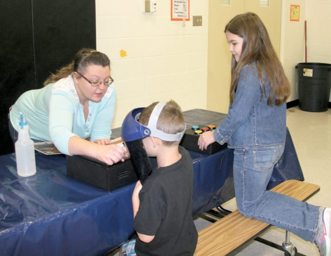 Submitted photos  Third Ward Elementary School welcomed COSI on Wheels. a traveling educational exhibit.