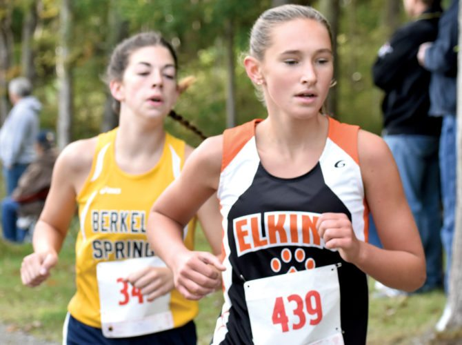 The Inter-Mountain photo by Logan Comer The Elkins High School cross country squad hosted the annual Mountain State Forest Festival Invitational Saturday morning on the Davis & Elkins College cross country course.