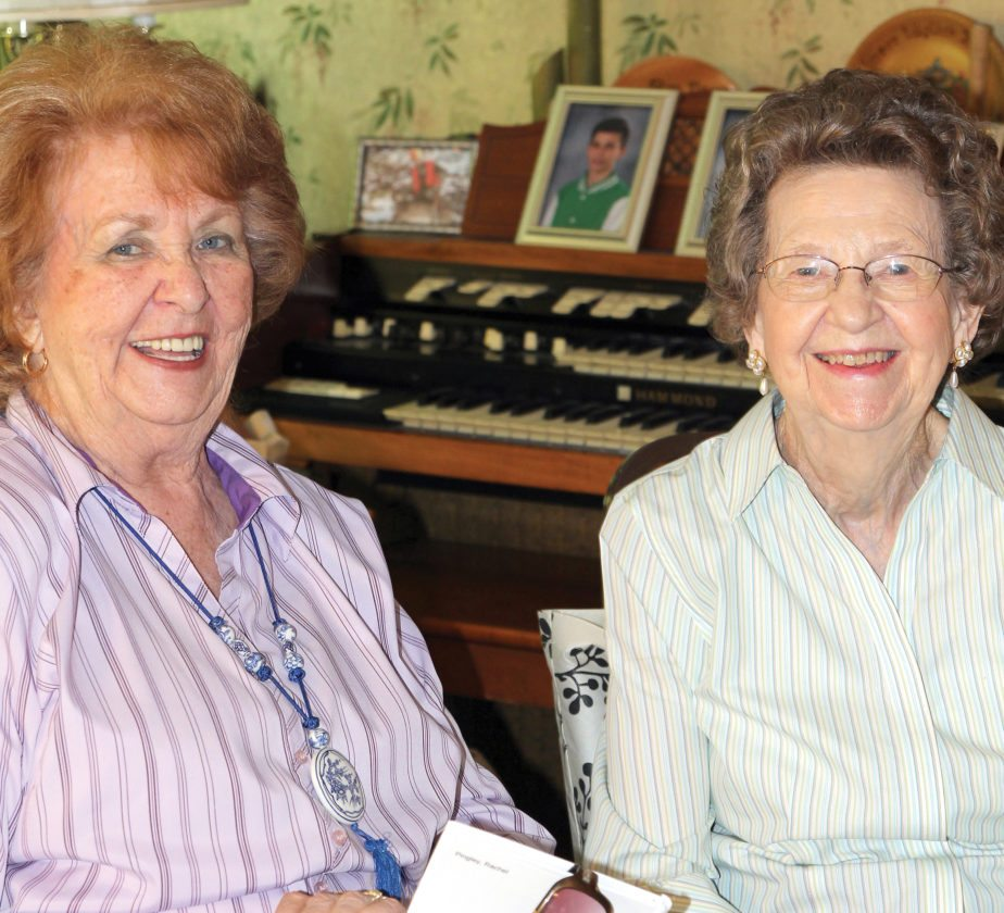 Submitted photos Rachel Pingley and Vallie Goots are two of the longest-standing members of the Emma Scott Garden Club. Goots was recognized for her dedication to the club and received a Life Membership to the West Virginia Garden Club. Pingley also has a lifetime membership.