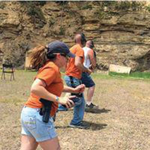 Submitted photo The WV Double Tap Gun Club is set to host a two-gun shooting competition on Sept. 23 at the Coalton VFW.