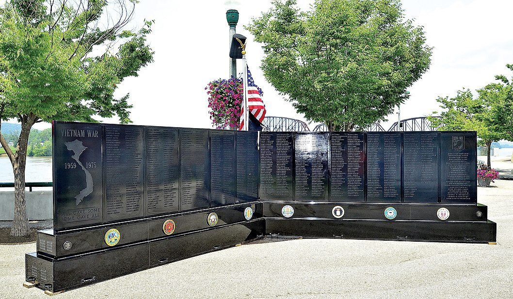 Submitted photo The West Virginia State Council Vietnam Veterans of America will be bringing their West Virginia Mobile Wall, featuring the names of all fallen Vietnam veterans from throughout the state, to the 81st Mountain State Forest Festival Oct. 4 through Oct. 7.