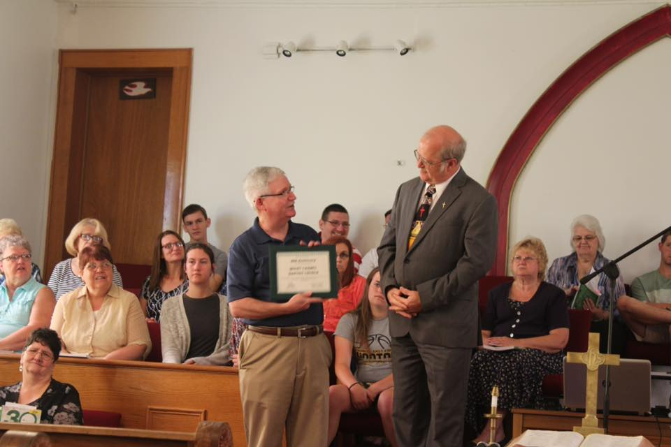 New Pastor at First Baptist Church of New Ulm