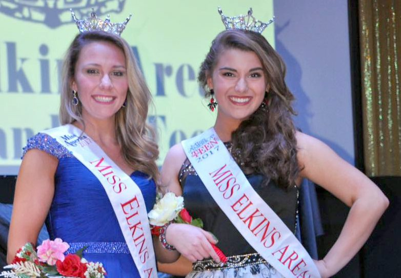 Submitted photo courtesy of Tonya Cool Winans Toriane Graal is Miss Elkins Area 2017 and Katie Bocchetti is Miss Elkins Area's Outstanding Teen 2017.
