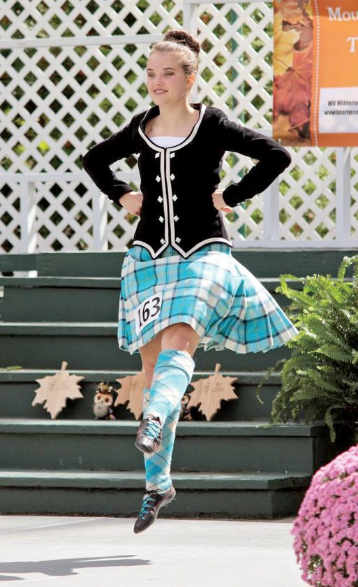 Submitted photos The first-ever Mountain State Forest Festival Highland Dance Competition took place Sept. 30.