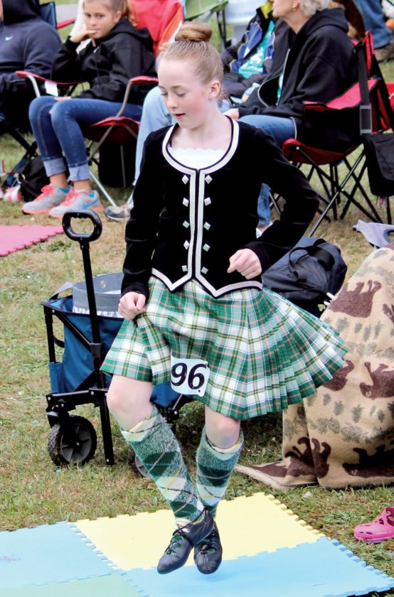 Winners of the first-ever Mountain State Forest Festival Highland Dance Competition have been announced