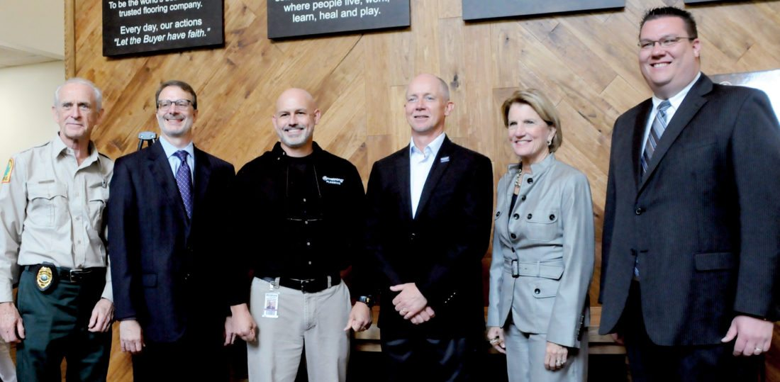 Armstrong Flooring to expand; announcement part of federal economic grants