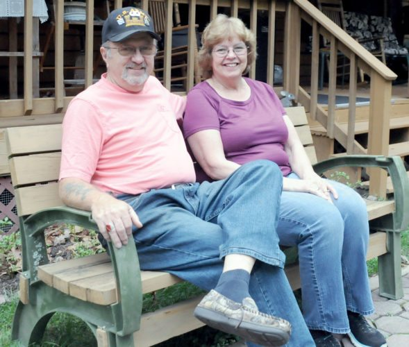 The Inter-Mountain photo by Beth Henry-Vance Del and Laronia Cohrs retired to Pocahontas County in 1998. The couple met while serving in the U.S. Army at Fort Meade, Maryland, in the 1960s.