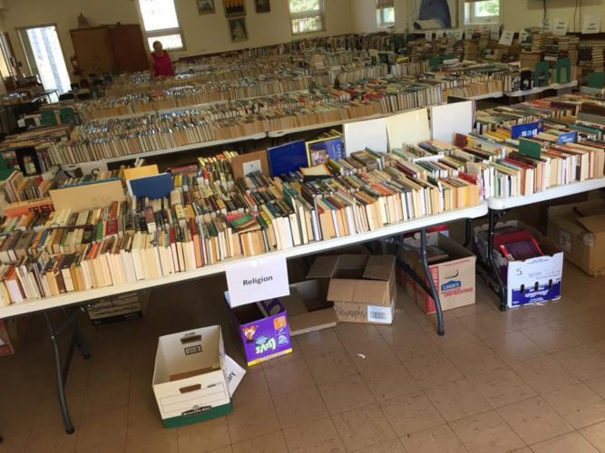 Submitted photo Literacy Volunteers of Upshur County members are proud to announce the recent success of the Fall Book Sale. LVUC uses the money raised through the sale to help provide free one-on-one tutoring to adults 16 and older who read at or below a fourth-grade reading level. Citizens of Upshur County are great supporters of the LVUC mission and its goal to lower the illiteracy rate in the county. LVUC members will announce the Spring Sale dates in the near future.