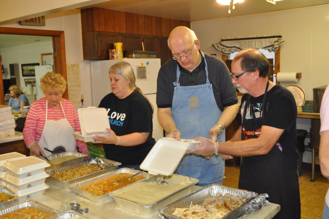 November  20: Community Thanksgiving Dinner in Newhall