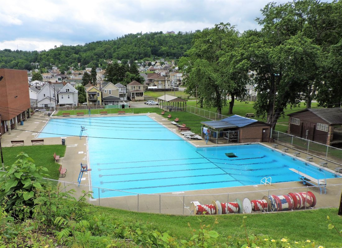 Martins ferry pool news sports jobs the times leader - Deans community high school swimming pool ...