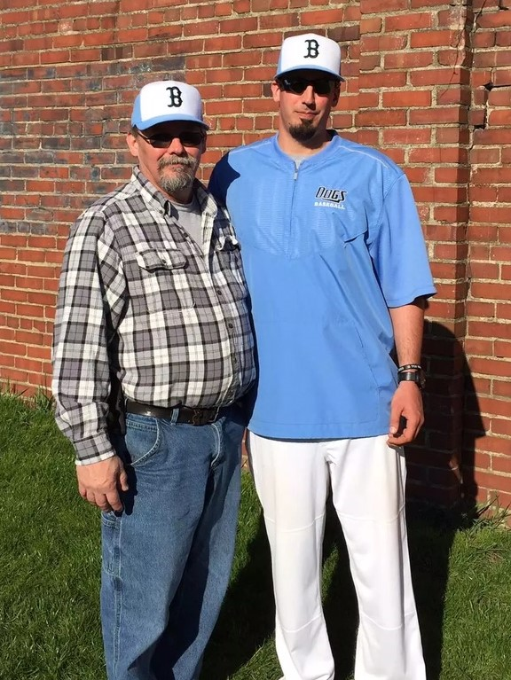 Photo Provided Photo Provided BRIDGEPORT head baseball coach Mike Muklewicz (right) and his father, Stan, are celebrating an extra special Father's Day today after Stan nearly lost his life to a circulation issue in December.