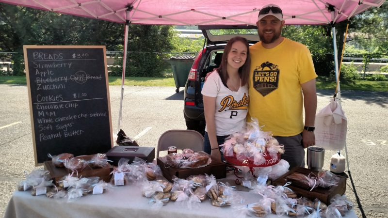 Photo Provided Vendors love to interact with guests at Ohio Valley Farmers' Market.