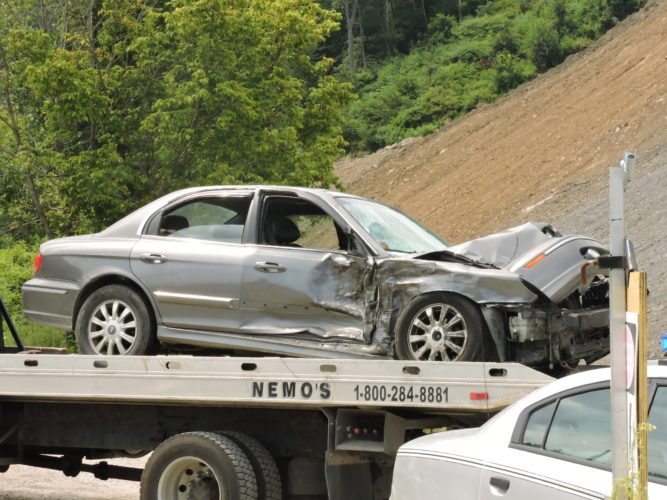 ROUTE 7 WRECK 1