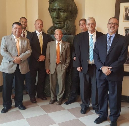 Photo Provided  County commissioners from all over Ohio recently traveled to Washington D.C. to meet with government officials.