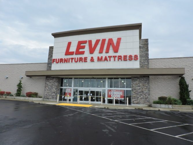 Levin  Furniture is getting ready to open its doors to the public in early October.        T-L Photo/JANELL HUNTER
