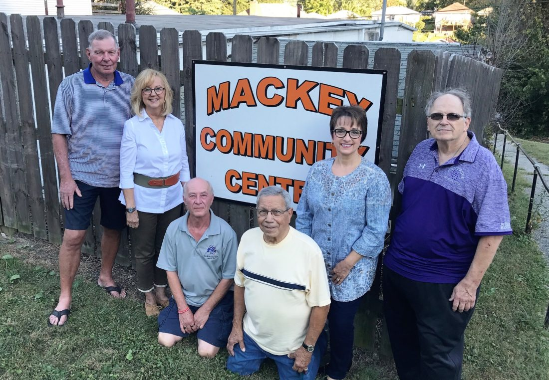 Photo provided MACKEY COMMUNITY Center board members are preparing for the bittersweet sale of the organization's community center. From left are Dave Reasbeck, Bonnie Travis, Rick Rodgers, Lou Suriano, Carmen Prati-Miller and John Applegarth.  2. Photo provided SHOWN HERE is the Mackey Avenue Community Center on North Eighth Street in Martins Ferry that is up for sale. It was built in 1952.  Buyer sought for Mackey Community Center Association members moving on after 67 years