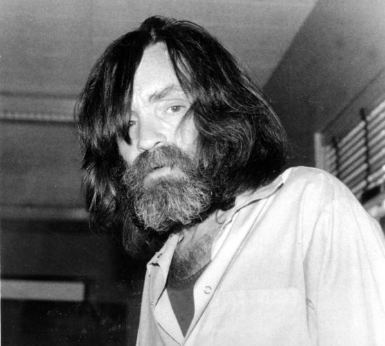 AP File Photo In this June 10, 1981 file photo, convicted murderer Charles Manson is photographed during an interview with television talk show host Tom Snyder in a medical facility in Vacaville, Calif. Authorities say Manson, cult leader and mastermind behind 1969 deaths of actress Sharon Tate and several others, died on Sunday, Nov. 19, 2017. He was 83.